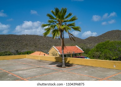 On Old Plantation hous  Views around the small Caribbean Island of Curacao
