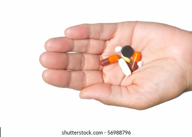 On the one hand, a lot of different pills, isolated