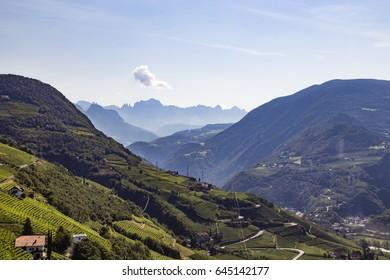 on the Ritten near Bolzano, South Tyrol, Italy