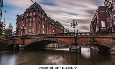 on the river in hamburg