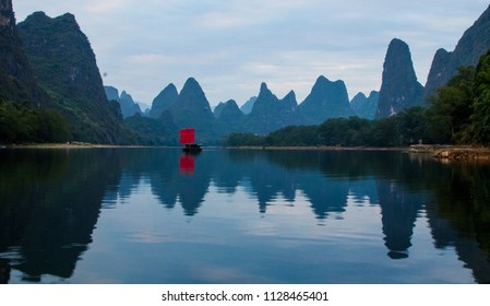 On the river Li Guilin fishman