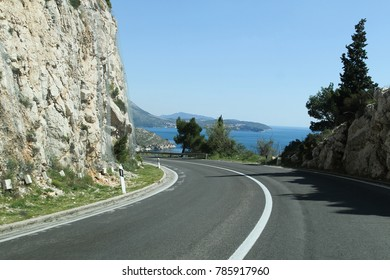 On the road in Croatia