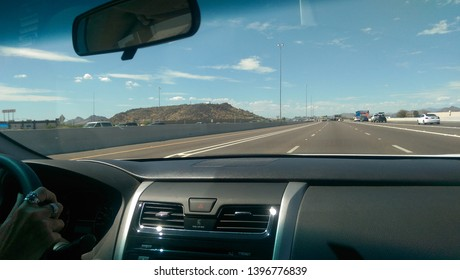 on the road . Travel with a car