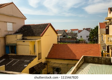 On the roofs of the town