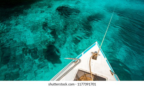 On the Similan islands, Thailand
