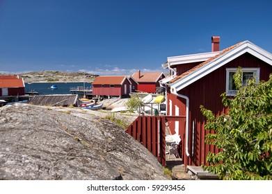 On the Skerry Island of Kaeringoen, Sweden