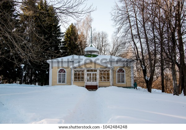 on the territory of the Peter the Great Museum in Pereyaslavl-Zalemsky