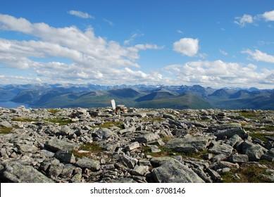 on the TOP; Mountain - Skola, hiking - Shutterstock ID 8708146