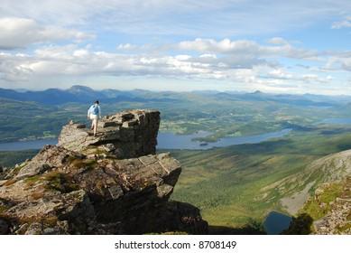 on the TOP; Mountain - Skola, hiking - Shutterstock ID 8708149