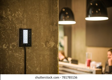 on the wall touch light switch