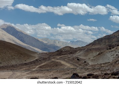 Mountain's on the way to Nubra Valley, India Aug 2017.