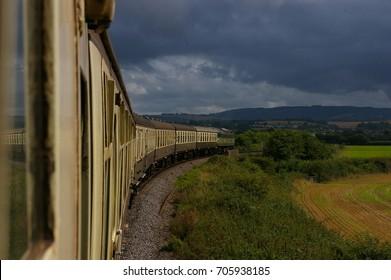 On The West Somerset Railway - Between Minehead & Bishops Lydeard