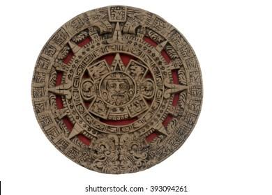 on a white background Calendar Maya Stone