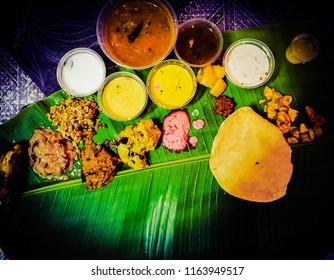 Onam Sadhya from Kerala