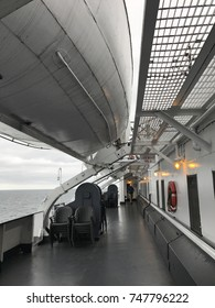 Onboard the Carferry Vessel
