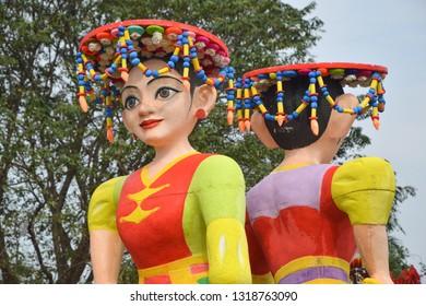 Ondel - Ondel Doll Made From Styrofoam