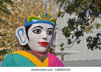 Ondel-ondel Jakarta Puppet