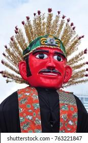 Ondel-ondel the traditional puppet fron Jakarta