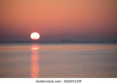 ONDERGAANDE ZON SUNSET