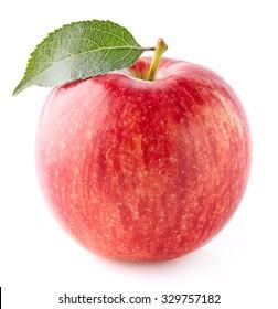 One apple in closeup