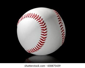 One baseball ball