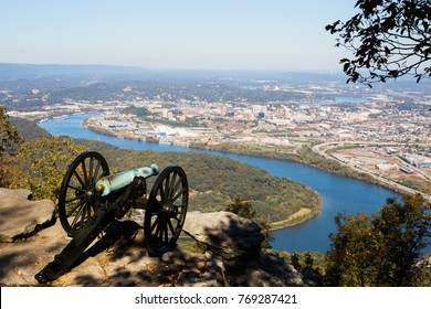 One of the best viewpoints of the Tennessee River. Located in Chickamauga & Chattanooga National Military Park, Point Park is a ten acre memorial park that overlooks the city of Chattanooga, TN.