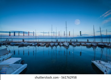 One of the biggest and most beautiful harbors on Lake Garda Bardolino