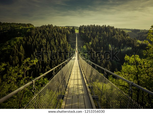 one a the biggest rope bridges