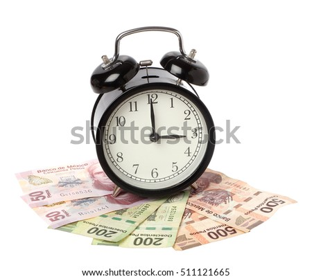 one black alarm clock on mexican stock photo edit now 511121665