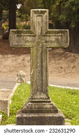 One cemetery cross