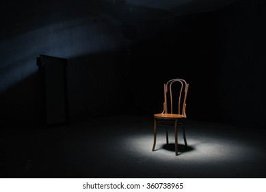 one chair in the room