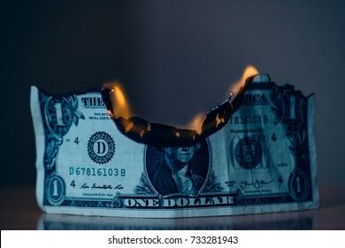 one dollar burn