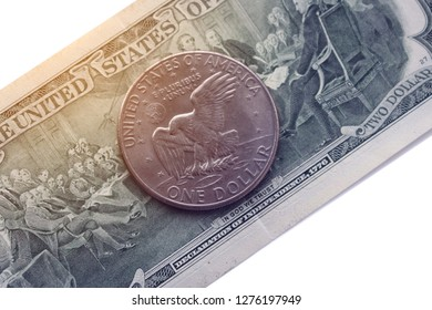 Dollar Bill Eagle Images, Stock Photos & Vectors | Shutterstock