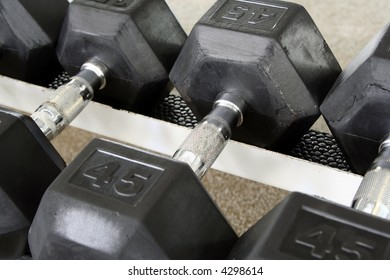One dumbbell is shown.