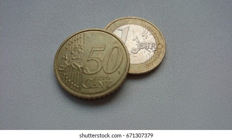 One euro fifty cent