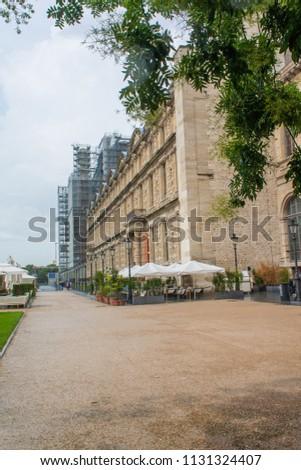 One Exterior Facades Museum Decorative Arts Stock Photo Edit Now