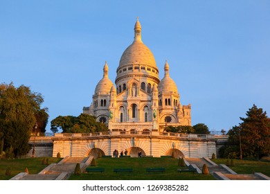 One of the famous sights in Paris- Sacred Heart Church. Taken on the Paris, France.