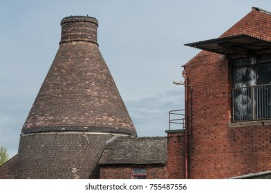 One of the few remaining Bottle Kilns in the city of Stoke on Trent, once the key area of pottery manufacture.