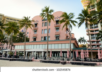 One of the first hotels established in Waikiki, The Royal Hawaiian is considered one of the flagship hotels in Hawaii tourism.