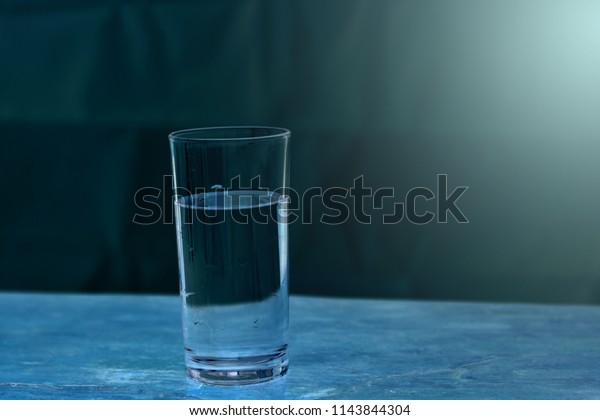 Super One Glass Water On Table Stock Photo Edit Now 1143844304 Interior Design Ideas Inesswwsoteloinfo