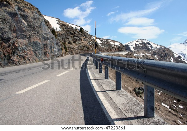 One of the highest passes in the Alps is Jaufen pass between Italy and Austria