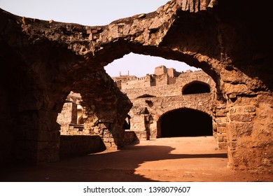 One of the Historical Place  Golconda Fort at Hyderabad