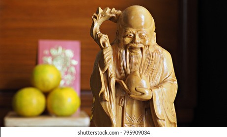 One of Hok Lok Siew , the three gods for Chinese beliefs. Siew symbolises longevity.