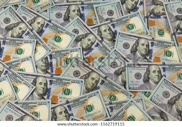 One Hundred Dollar Bills Wallpaper Stock Photo Edit Now