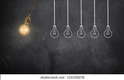 one idea is starting a chain reaction of following ideas