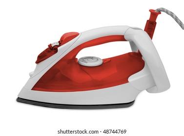 one iron on the white