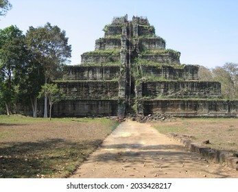 One of the Koh Ker archaeological site, Cambodia. - Shutterstock ID 2033428217