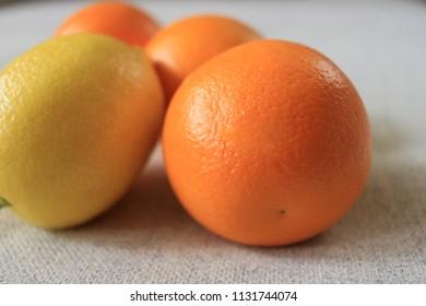 One Lemon and Three Oranges