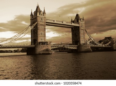 One of London's most famous and recognized symbols and landmarks, Tower Bridge