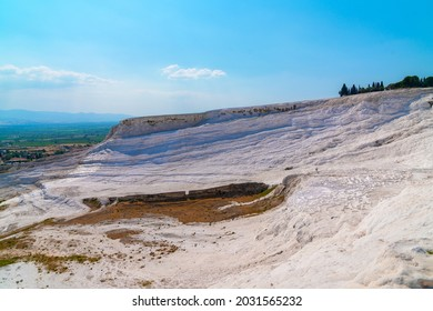 One of the main tourist attractions in Turkey is the travertines and Pamukkale hot springs.